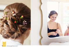 Kansas City Wedding Photographer The Elms Wedding KS KC Wedding Photographer Wedding Hair  Bride Hair