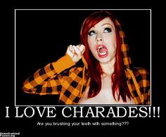 why women can't play charades