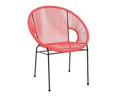 Chaise, noir et rouge - L53 99€