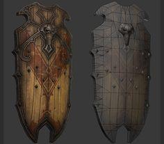 Skull Shield Final by ~CDB-ART on deviantART