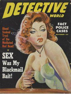 Detective World - November, 1949