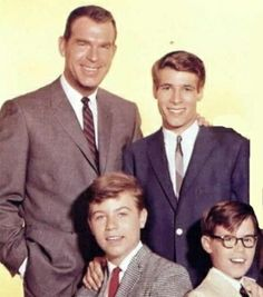 my 3 sons....great tv show!! Watched the reruns when I was a kid.