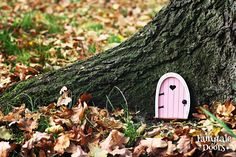 Fairy Door 'Bella' in Pink - Pink Fairy door - Miniature door - Fairy garden - Fairytale door - Tooth Fairy door - Fairy door for tree Fairy Dust, Fairy Tales, Fairy Doors On Trees, Tooth Fairy Doors, Classic Doors, Modern Door, Exterior Doors, Things To Come, Girly