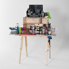Stylish & Brilliant Portable Kitchen By MESS BOX by THEMOHICAN