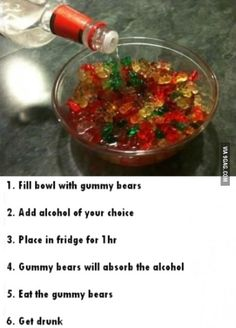 Alcoholic beverages for you party go-er's ;)
