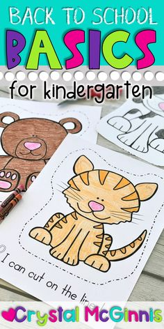 Back to School Basics for Kindergarten