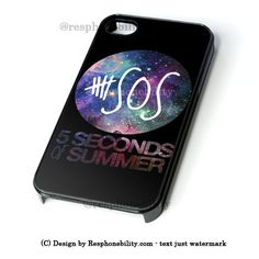 5 Seconds Of Summer - 5Sos Floral Pattern iPhone 4 4S 5 5S 5C 6 6 Plus , iPod 4 5  , Samsung Galaxy S3 S4 S5 Note 3 Note 4 , and HTC One X M7 M8 Case