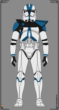 501st Legion - Commander Appo by JackAubreySW