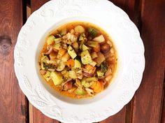 soupe minestrone de ludivine