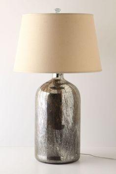 Mirror Jar Lamp Base, Large - anthropologie.com