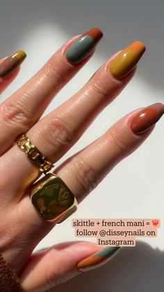 Nude Nails, Coffin Nails, Acrylic Nails, Nail Growth, Funky Nails, Some Ideas, Mani Pedi, Fall Trends, Nail Inspo