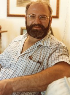 Oliver Sacks in his daddy bear phase. Daddy Bear, Prehistoric Animals, Science Fiction, Gentleman, Writer, Ebooks, Dads, Author, Couple Photos
