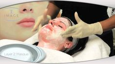 IMAGE Skincare Signature Facelift. 4 layer enzyme peel. Love getting this done after microdermabrasion.