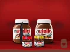 Nutella is classy as ever!