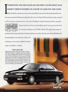 1992 Mazda 929 Sedan