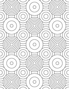 "I have seen a variety of ""grown-up"" coloring pages floating around the web, and decided to try my hand at creating my own. With that in mind, and because both my wife and children love … Geometric Coloring Pages, Pattern Coloring Pages, Flower Coloring Pages, Mandala Coloring Pages, Coloring Book Pages, Printable Coloring Pages, Coloring Sheets, Doodle Coloring, Coloring Pages For Grown Ups"