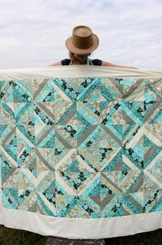 Amy Butler's Daisy Chain Fabrics with The Daisy Chain Strippy Quilt - Free Pattern!