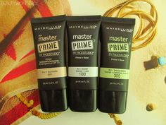 Reseña primers Master Prime Maybelline | Beauty Wonder