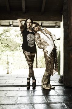 Steven Tyler & Chelsea Tyler for Andy Hilfiger's Andrew Charles Collection