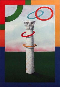 "Milton Glaser, ""Olympic Rings"""