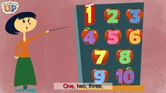 Learn how to count to ten in English with this fun song from our young learner course, Everybody Up. Visit http://www.oup.com/elt/teacher/everybodyup for son...