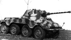 Picture of the SdKfz 234 (Puma)