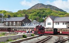 A train journey through time on the historic Ffestiniog Railway in North Wales, from Snowdonia& mountains at Blenau Ffestiniog to Porthmadog by the sea. Milwaukee Road, Snowdonia, Train Journey, North Wales, England, Cabin, Mansions, Welsh, House Styles