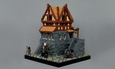 I've forgotten the number of hours I spent playing Skyrim, so when I saw Proudspire Manor by soccersnyderi it was like I was back in Solitude with a sword in my hand and a pack full of loot. This LEGO model of the game location was built as a commissioned model for one of the actual game designers, since Isaac had …