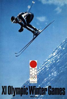 Yusaku Kamekura / 1972    XI Olympic Winter Games, Sapporo'72