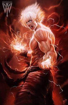 Super Saiyan Created by Ceasar Ian Muyuela (Wizyakuza)
