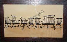 Windsor Chairs, Wendy Schultz Wubbels