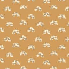 Fabric sunset rainbow fabric - earth tones muted boho fabric - sfx1144 oak leaf