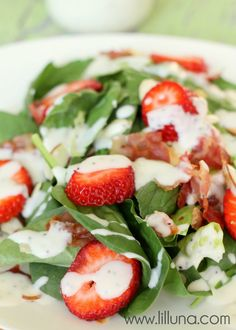 Strawberry Bacon Sal