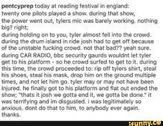 This was sick and disgusting. I cannot believe people would treat Tyler this way. It broke my heart ;( #RespectTylerJoseph