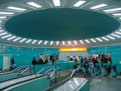 Tsereteli Metro Station - Tbilisi Metro, Georgia