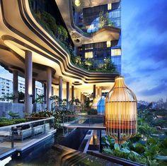 Fancy - Parkroyal on Pickering Hotel @ Singapore