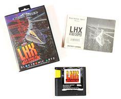 Sega Mega Drive Spiel LHX Attack Chopper in OVP