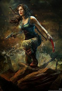 Tomb Raider Lara Croft #adventure #lady #croft