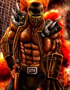 fist of the north star jagi - Google Search
