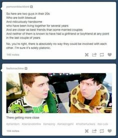 It gets to a point where I don't care if phan is really or not. I'm just glad they're happy