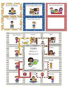 Goes perfect with the CHAMPs program our district uses. Classroom Behavior, Future Classroom, School Classroom, Classroom Ideas, Classroom Procedures, Classroom Signs, Teacher Tools, Teacher Stuff, Teacher Binder