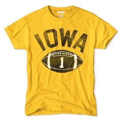 Iowa Football Men's T-Shirt http://www.tailgateclothing.com/collections/college-iowa