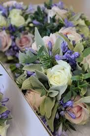 Image result for hand tied bouquet agapanthus