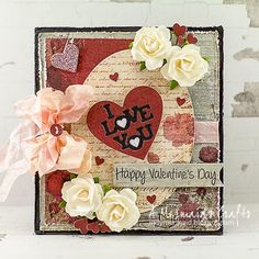 A Mermaid's Crafts: Valentine's Day Cards - Part 2 ~ indymermaid.blogspot.com