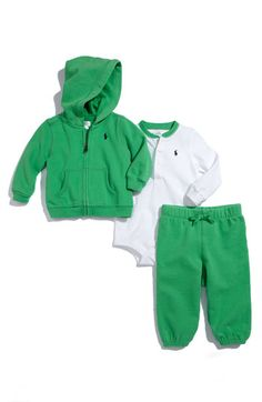 green and adorable! baby boy threads