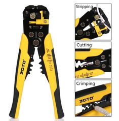 Automatic Wire Striper Cutter Crimper Plier Stripper Terminal Professional Tool