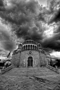 The Church of Saint Constantine and Saint Helena, Glyfada, Athens - Greece Glyfada Greece, St Constantine, Cool Pictures, Cool Photos, My Father's House, Cathedral Church, Athens Greece, Wonderful Places, Amazing Places
