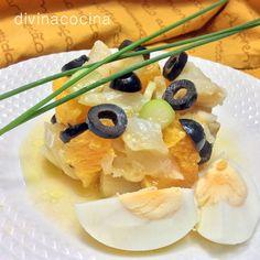 Kabeljau-Orangen-Salat
