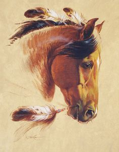 Discover thousands of images about Gorgeous Pale Horse Painting ~ Artist : Jody Bergsma Native American Horses, Native American Artwork, Pretty Horses, Beautiful Horses, Indian Horse Tattoo, Indian Horses, Horse Artwork, Painted Pony, Cowboy Art