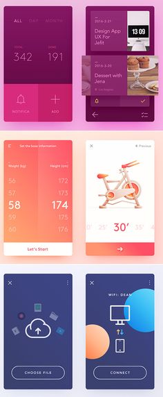 Free Modern UI Elements for GUI Screens #freepsdfiles #freepsdgraphics #freepsdmockups #freebies